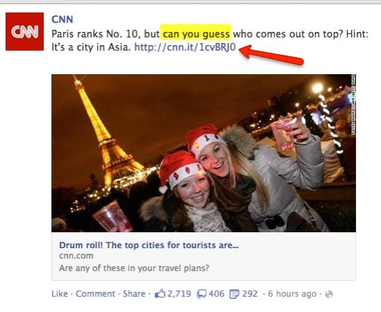 如何提高你的Facebook参与度(3)
